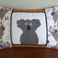 Koala cushion, koala pillow, decorative cushion, nursery pillow