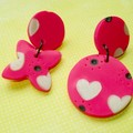 Fat Cat Originals XO Earrings