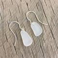 Natural Beauty Sea Glass Earrings