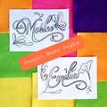 RAINBOW 10x Colouring/Collage Pages and Custom Name Page