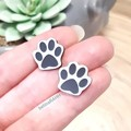 Paw Print // Dog / Cat // Cute Stud Earrings // Hypo-Allergenic // Free Post