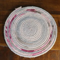 Small Rope Heat pads- Pink and Grey