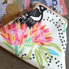 Cheeky Magpie coin purse