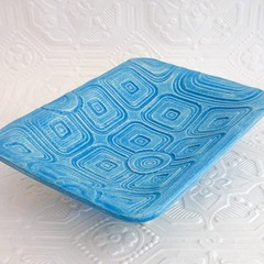 Handmade Textured Ceramic Soap Dish