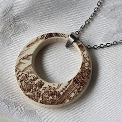 Retro circle Pendant