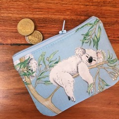 Coin purse - Koala in tree