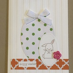 Easter Handmade Card - FREE POST