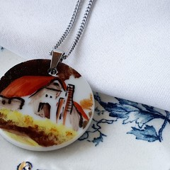 Rural Cottage Pendant
