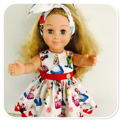 Alice in Wonderland Dolls Dress