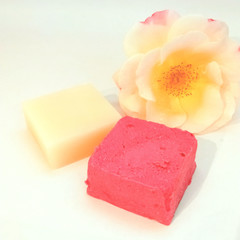 Vanilla Rose Shampoo and Conditioner Bar Set (Small)