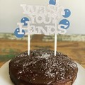 Wash your hands - funny birthday - cake topper - caketopper
