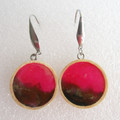 Resin  Drop earrings Set 10