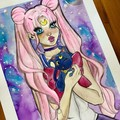sailor moon  A3 original paintings