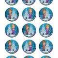 "Mermaid Under The Sea Pre-cut 2"" Edible Cupcake Toppers - Sheet of 15 - EI003C"