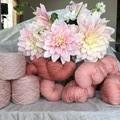 5ply hand dyed superfine merino yarn 86g /290m