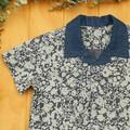 Silhouette Denim - Boy's Button up Shirt - Size 4