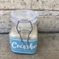 Lime and Coconut Body Scrub Jar
