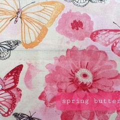 Protective Hygiene Face Mask - Spring Butterfly