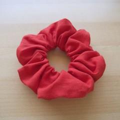 Cotton-Linen Scrunchie