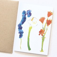 FREE POST | 4 Blank Art Cards | Thinking of You, Sympathy, Thank You