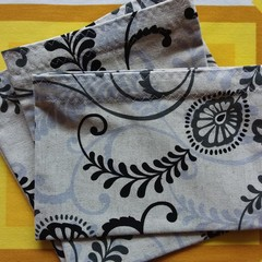 Handy Bags- Modern Foliage Print
