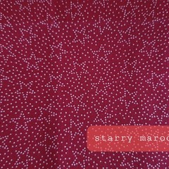 Protective Hygiene Face Mask - Starry Maroon