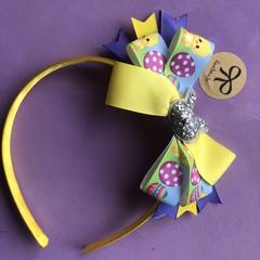 Stunning handmade girls/ toddler 🐣 inspired colourful headband