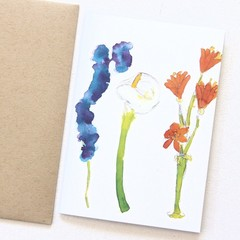 4 Blank Cards, Thinking of You Card, Sympathy Card, Thank You Card, Mother's Day