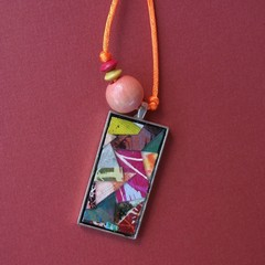 Orville - Collage Pendant