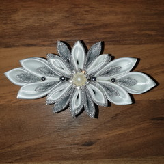 Kanzashi Flower Barette Clip
