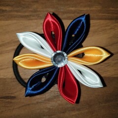 Kanzashi Flower Ponytail holders