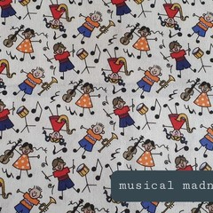Protective Hygiene Face Mask - Musical Madness