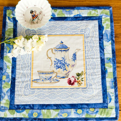 Mother's Day gifts. Table mat or trivet.