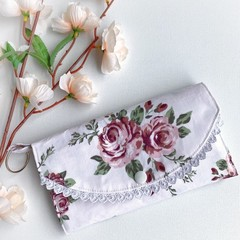 Fabric Wallet   Fabric Purse   Womens   Ladies   Girls   Gift   Boho   Floral