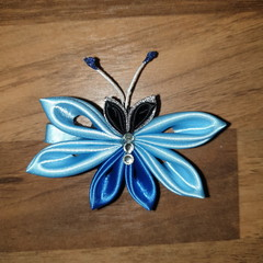 Kanzashi Butterfly Clips
