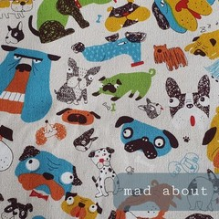 Protective Hygiene Face Mask - Mad About Dogs