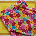 Handy Bags- Funky bright floral print