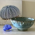 16cm Sprig Bowl - Blue/Green