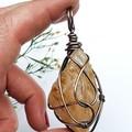 Golden Healer Pendant