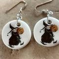Porcelain Witch Earrings