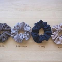 Linen Scrunchie