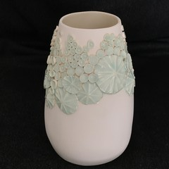 Ocean Sprig Vase - Light Green