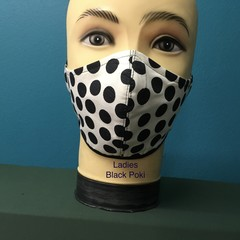 Fashion Mask  Black Poki