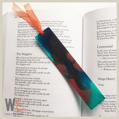 Handmade Eco Resin Bookmark | FREE SHIPPING