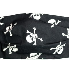 The Jolly Roger - Handmade Cotton Face Mask