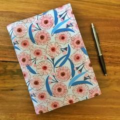 Note Pad Cover - Gum Blossom