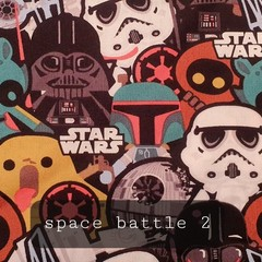 Protective Hygiene Face Mask - Space Battle 2