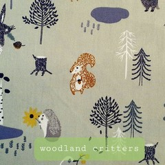 Protective Hygiene Face Mask - Woodland Critters