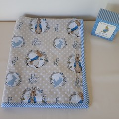 PETER RABBIT  PRAM MINKY BLANKET