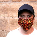 The Hot Rod - Handmade Cotton Face Mask